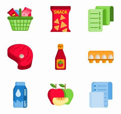 Grocery Icon Icons Vector Packs Svg