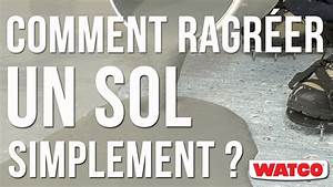comment ragreer un sol simplement ragreage coulable With ragreer un sol exterieur
