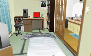 Anime Apartment Room
