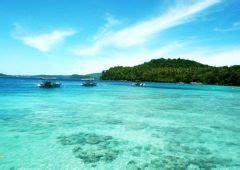 menikmati surga bawah laut pantai iboih sabang aceh