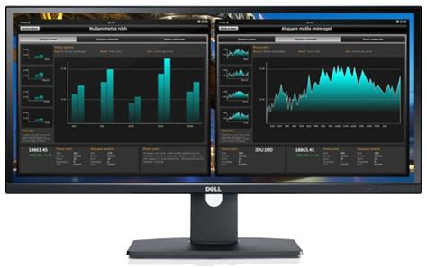 ordinateur de bureau grand ecran le grand moniteur dell ultrasharp u2913wm