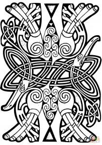 design coloring pages celtic design coloring page free printable coloring pages