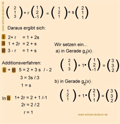 analytische geometrie und lineare algebra ebenengleichung