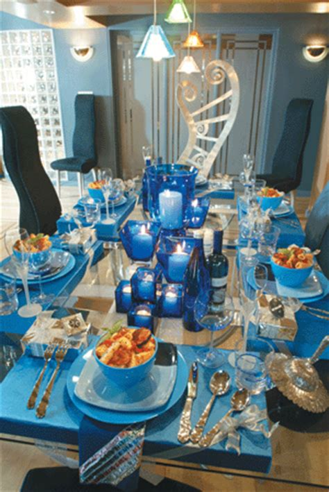 Mainly Blue Hanukkah Beautiful Table Settings  Decogirl. Picture Decorations. Room Rugs. Craigslist Dining Room Table. France Themed Party Decorations. By The Seashore Decor. Rooms Available In Ocean City Md. Vegas Hotel Rooms. Home Decor Art