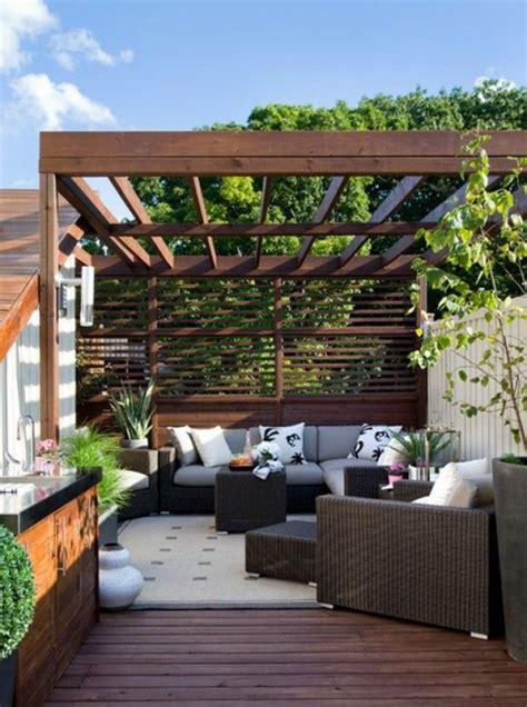 pin  terrace pergola canopy