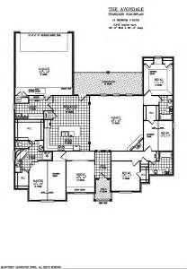 House Plans Rear Garage by Dan Hines Construction Lubbock Custom Built New