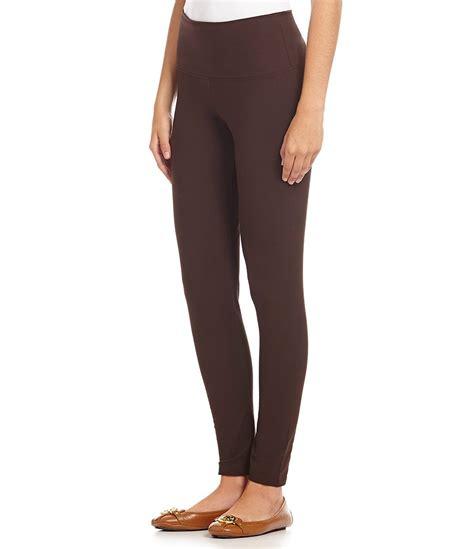 intro love  fit slimming pull  leggings dillards