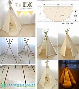 Fabriquer Tipi Enfant : la tente souvenir d enfance je fais moi m me ~ Voncanada.com Idées de Décoration