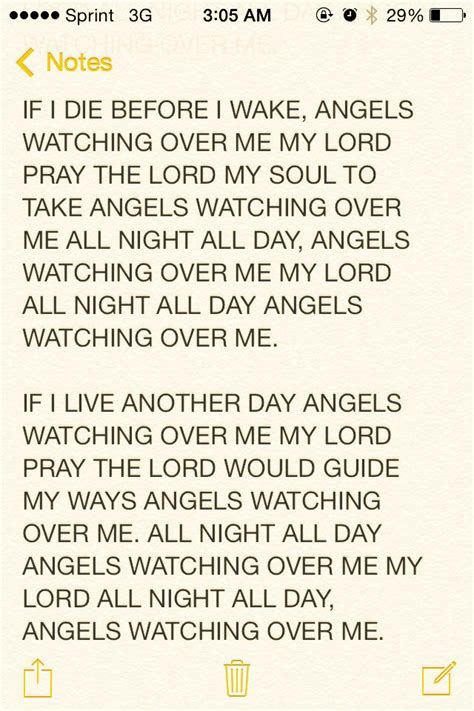 Angels Looking Over Me Quotes