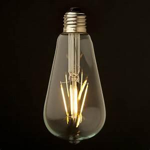 Led Lamp 5 Watt : 3 5 watt dimmable filament led e27 clear edison bulb ~ Markanthonyermac.com Haus und Dekorationen