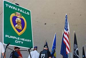 Twin Falls unveils 'Purple Heart City' signs | Southern ...