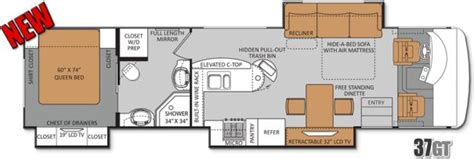 Best Class C Rv Floor Plans by 17 Best Images About Interesting Cer Floor Plans On