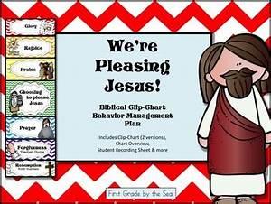 Clip Chart Behavior Management System We 39 Re Choosing To Please Jesus Clip Chart Behavior System