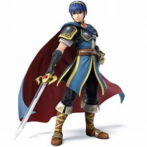 Super Smash Bros For Nintendo 3DS Wii U Marth