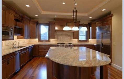 dark cabinets light granite light granite dark cabinets home remodeling ideas