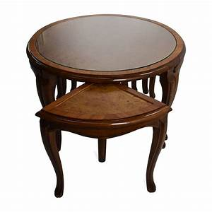 30 the best coffee tables with nesting stools With 30 round glass coffee table