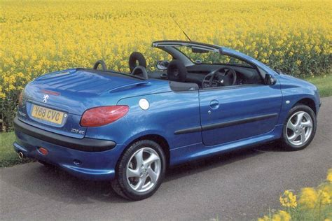 peugeot cabriolet peugeot 206 coupe cabriolet 2000 2007 used car review