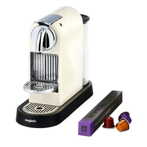 Best nespresso machines in 2020. Nespresso CitiZ by Magimix M190 - Cream | Nespresso, Home coffee machines, Coffee machine