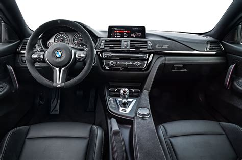 bmw m4 interior bmw m4 cs delivers 454 hp will come to u s motor trend