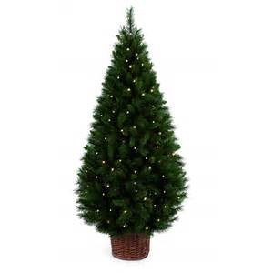 premier decorations 1 8 metre led pre lit redwood christmas tree premier decorations from