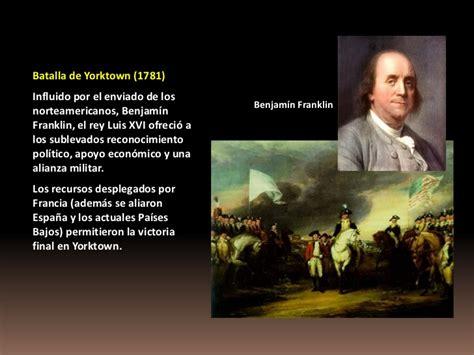 Benjamin Franklin Resumen Corto by Independencia De Los Eeuu