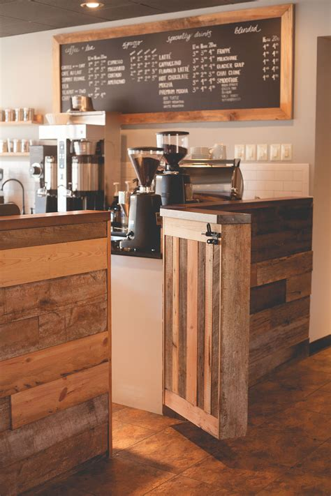 City davidson, nc, united states. Summit Coffee. Davidson NC. Reclaimed wood bar by Lancaster Cabinetry. Design by Farm & Factory ...