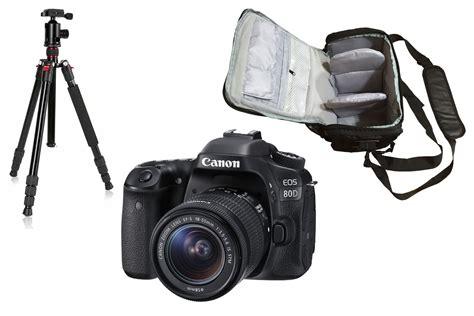 canon eos    camera bag tripod kit
