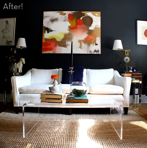 Dramatic And After Living Rooms by Before After A And Dramatic Living Room Makeover