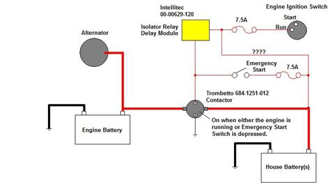 where is battery isolator controller thor forums