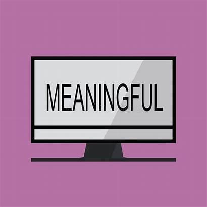 Meaningful Relevante Significativo Utile Importante Significatif Significativa