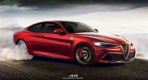 Alfa Romeo Giulia Rendered As 641 Hp Coupe Bruiser