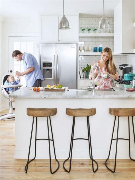 ot central de cuisine 50 idées d 39 îlot central cuisine blanc de design moderne