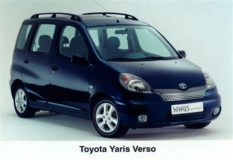yaris verso archive toyota uk media site