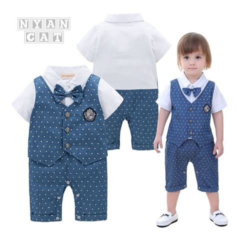 Romper Nyan Cat nyan cat baby boy clothes romper summer sleeves