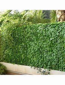 Brise Vue 1m50 : haie artificielle feuilles de lierre jet7garden haies artificielles jardin concept ~ Melissatoandfro.com Idées de Décoration