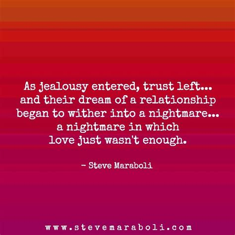 Insecurity Jealousy Relationships Quotes