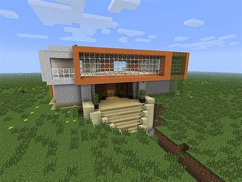 big modern style house minecraft project