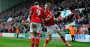 Bristol City players have fun over former team mate Luke ...