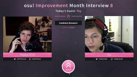 Happystick Osu! Improvement Month