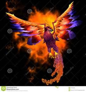 Phoenix Bird Symbol