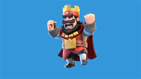 Clash Royale Red King, Hd Games, 4k Wallpapers, Images