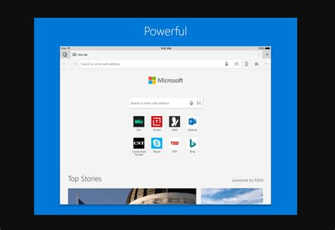 microsoft edge web browser comes to apple mspoweruser
