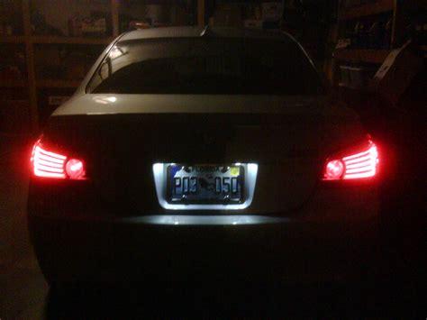 led license plate light oem led license plate lights pics bmw m5 forum and m6
