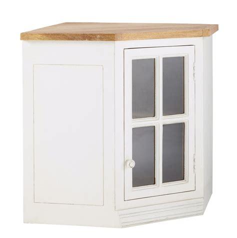 meuble d angle de cuisine meuble haut d 39 angle vitré de cuisine ouverture droite en