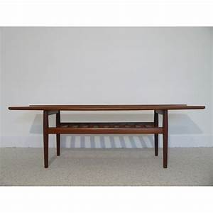 Table Basse Scandinave Vintage : grande table basse vintage scandinave la maison retro ~ Teatrodelosmanantiales.com Idées de Décoration