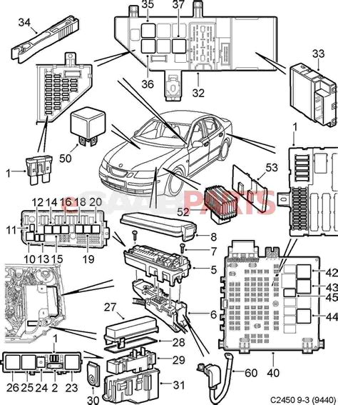 Wireing Diagram For A 1999 Saab 9 3 4 Door by 2003 Saab 9 3 Headlight Wiring Diagram Wiring Library