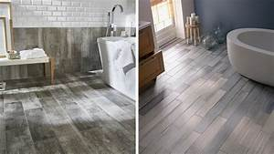 5 idees de carrelage pour la salle de bains With cacher carrelage salle de bain