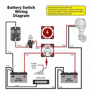 Sun Tracker Pontoon Boat Wiring Diagram Dual Battery Switch In  U2013 Volovets Info