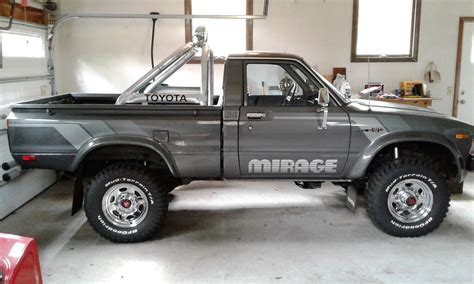 Toyota 4x4 by 1983 Toyota Sr 5 4x4 Truck Quot Mirage Limited Edition