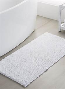 le tapis de bain chenille soyeuse 55x110 cm simons With tapis de maison